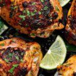 receta de pollo con lima