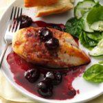 Pollo en salsa de vino