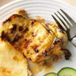 Muslos de pollo tandoori