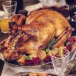 Pollo relleno con arándanos