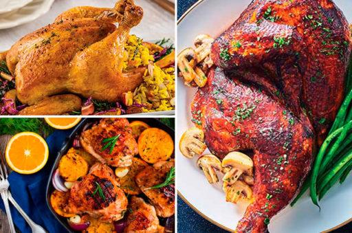Recetas de pollo para navidad