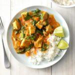 pollo al curry con nata