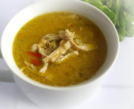 sopa de pollo conapio