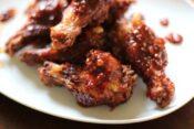 alas de pollo fritas coreanas