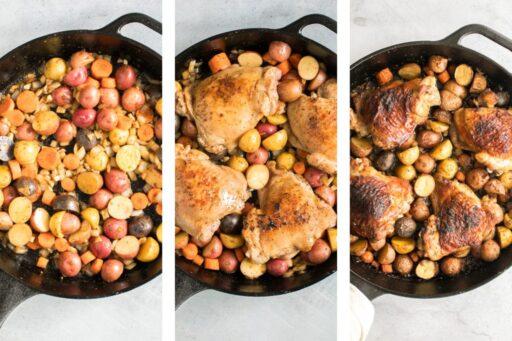 pollo a la sartén